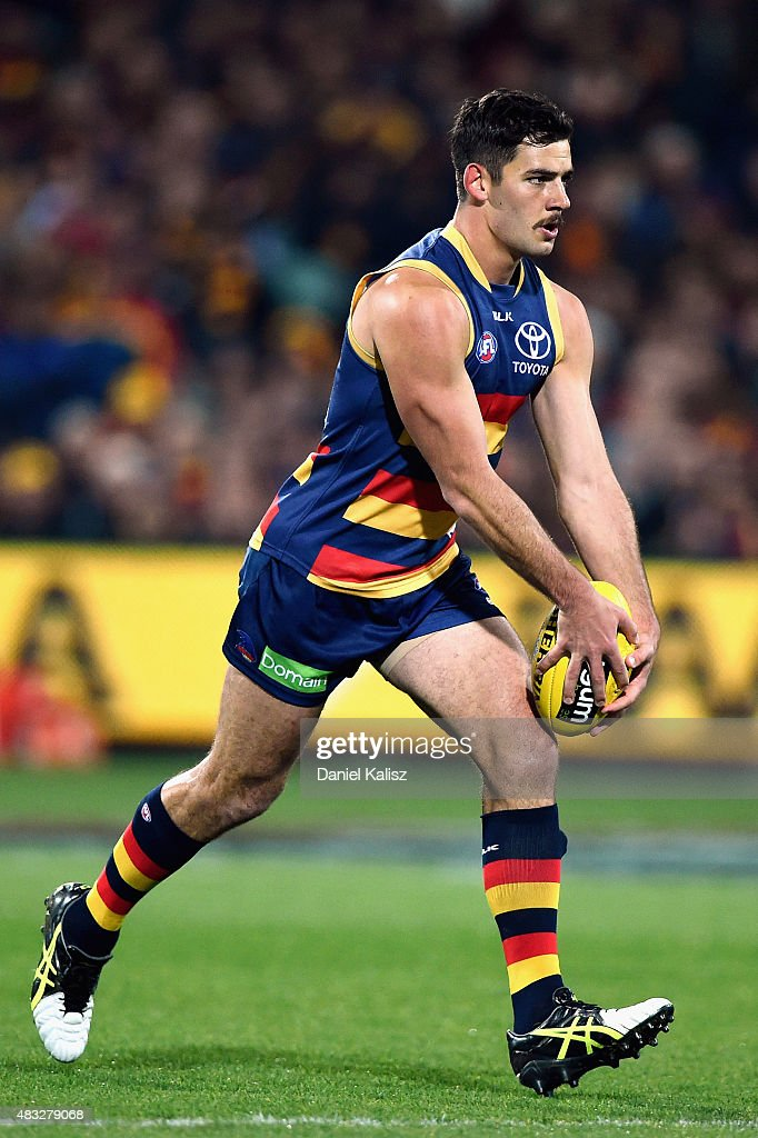 AFL Rd 19 -  Adelaide Crows v Richmond : News Photo