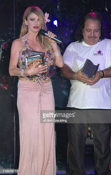 Taylor Wane and Ron Jeremy during Taylor Wane Fashion Show of Her New Nasstoys Taylor Wane Signature Line Show at Seamless Club in Las Vegas Nevada...