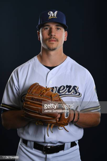 Taylor Williams of the Milwaukee Brewers poses during the Brewers Photo Day on February 22 2019 in Maryvale Arizona