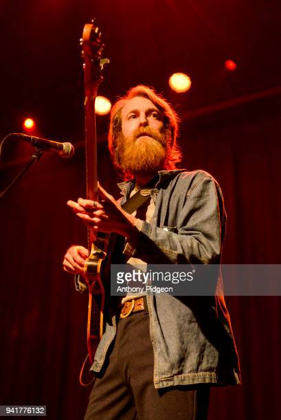 Taylor Zachry of Blank Range performs on stage at Revolution Hall in Portland Oregon USA on 26th February 2018