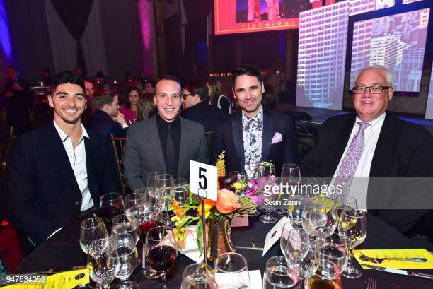 Taylor Zakhar Danny Rose Marc Parees and Kevin Morris attend NYU Tisch School of the Arts GALA 2018 at Capitale on April 16 2018 in New York City