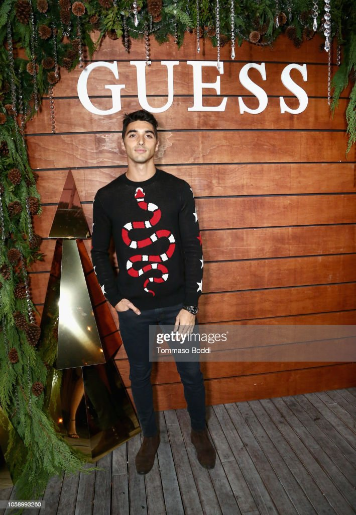GUESS Holiday 2018 Event : News Photo