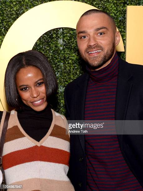 Taylour Paige and Jesse Williams attend the 3rd Annual MACRO PreOscar Party on February 06 2020 in West Hollywood California