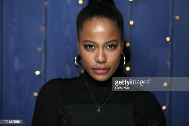Taylour Paige of 'Zola' attends the IMDb Studio at Acura Festival Village on location at the 2020 Sundance Film Festival – Day 2 on January 25 2020...