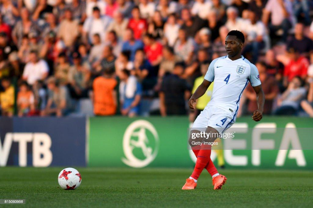 England v Portugal - 2017 UEFA European Under-19 Championship Final : News Photo