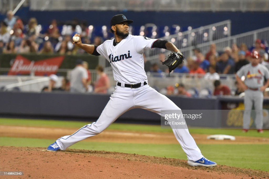 St Louis Cardinals  v Miami Marlins : News Photo