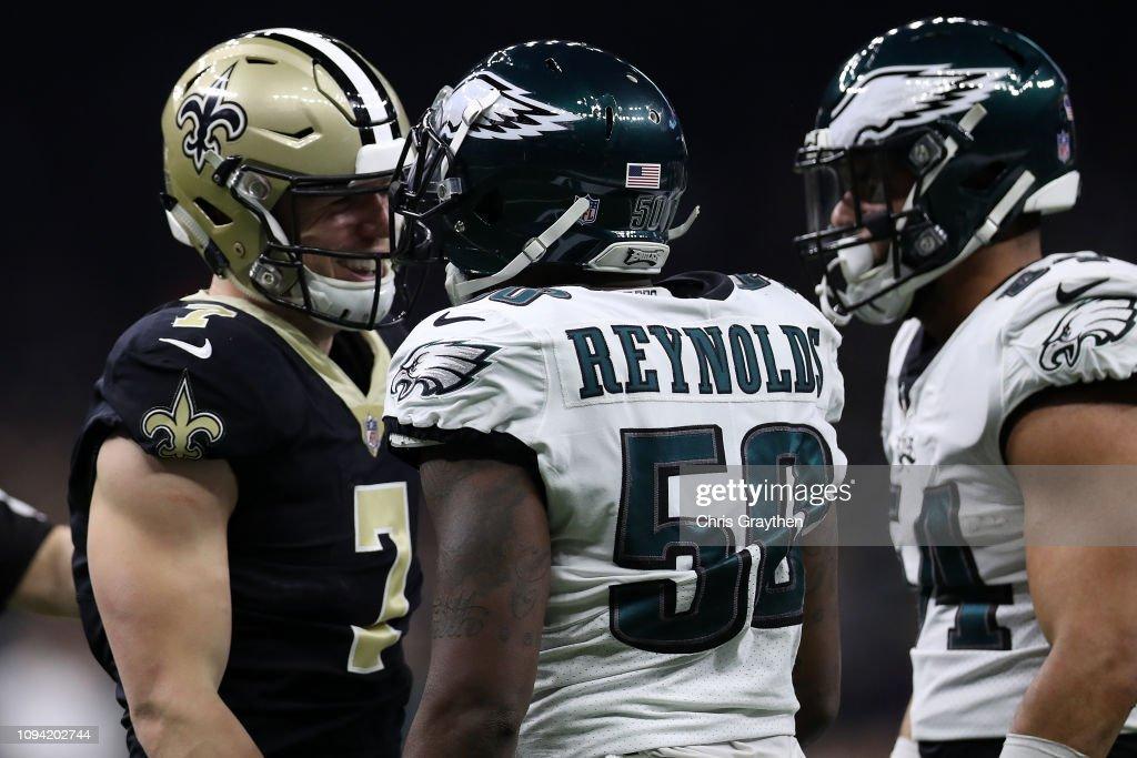 Divisional Round - Philadelphia Eagles v New Orleans Saints : News Photo