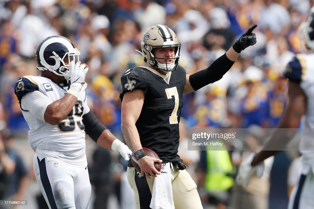 New Orleans Saints v Los Angeles Rams : News Photo