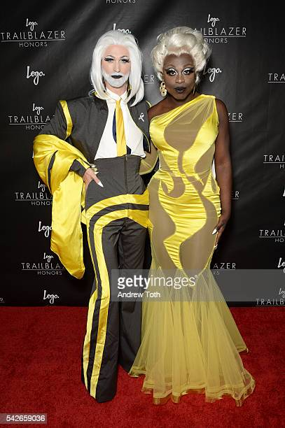 TayTay and Bob the Drag Queen attend the 2016 Trailblazer Honors event at Cathedral of St John the Divine on June 23 2016 in New York City