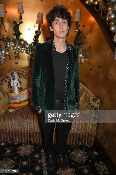 Taz Tustok attends the Nick Cave The Bad Seeds x The Vampires Wife x Matchesfashioncom party at Loulou's on November 22 2017 in London England