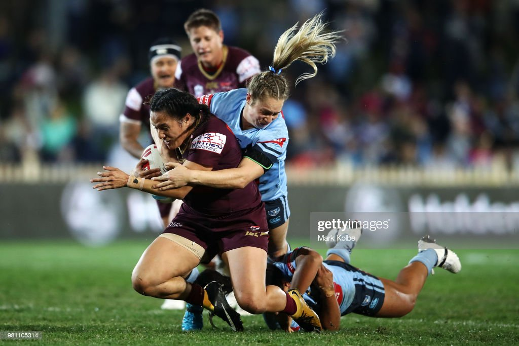Women's State Of Origin - NSW v QLD