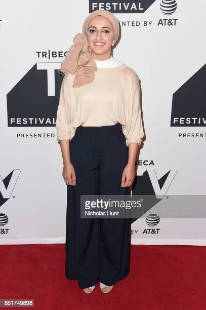 Tazzy Phe attends the Tribeca TV Festival premiere of YouTube Creators for Change at Cinepolis Chelsea on September 22 2017 in New York City