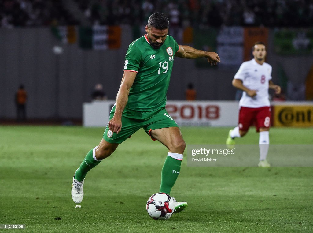 Georgia v Republic of Ireland - FIFA World Cup Qualifier Group D : News Photo