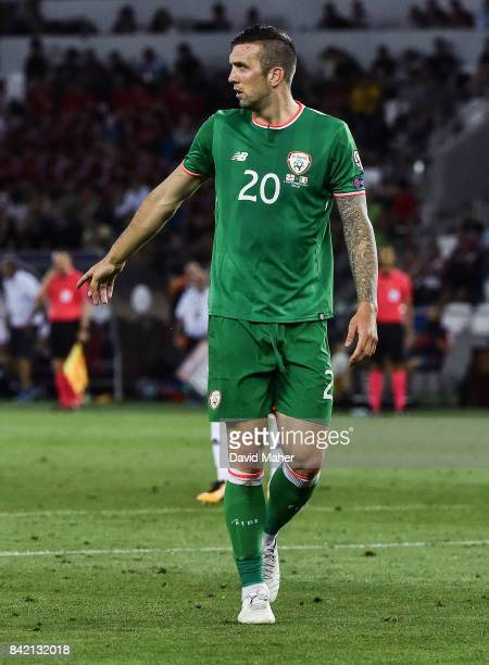 Tbilisi Georgia 2 September 2017 Shane Duffy of Republic of Ireland during the FIFA World Cup Qualifier Group D match between Georgia and Republic of...