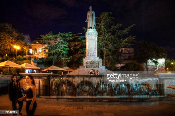 Tbilisi, Georgia at Night