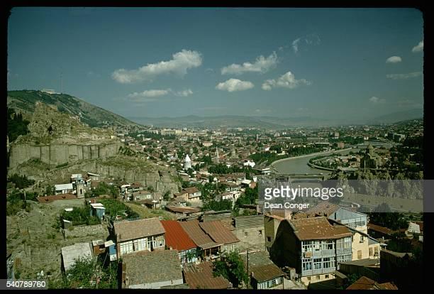 Tbilisi on the Kura River
