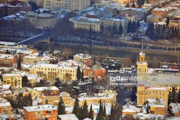 Tbilisi - Overhead shot