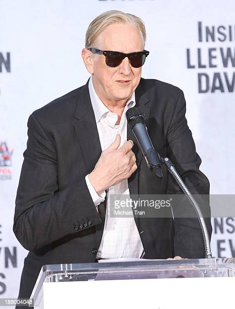 Bone Burnett attends the hand and footprint ceremony honoring John Goodman held at TCL Chinese Theatre on November 14 2013 in Hollywood California