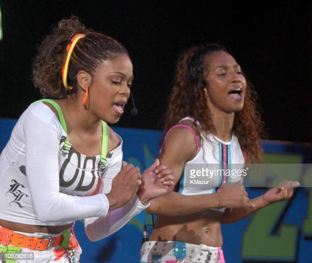 TBoz and Chilli of TLC in their last concert as a group following the death of member Lisa Left Eye Lopes last year