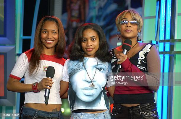 TBoz and Chilli of TLC with Rain Drop Lisa Left Eye Lopes's little sister