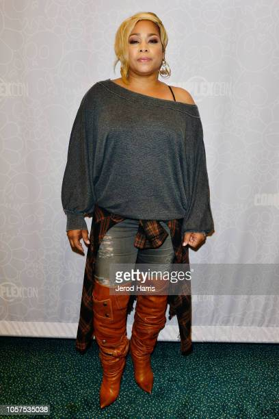 Boz attends Day 2 of Complex Con at the Long Beach Convention Center on November 4 2018 in Long Beach California