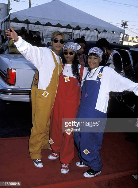TBoz Chilli and Lisa Left Eye Lopes of TLC