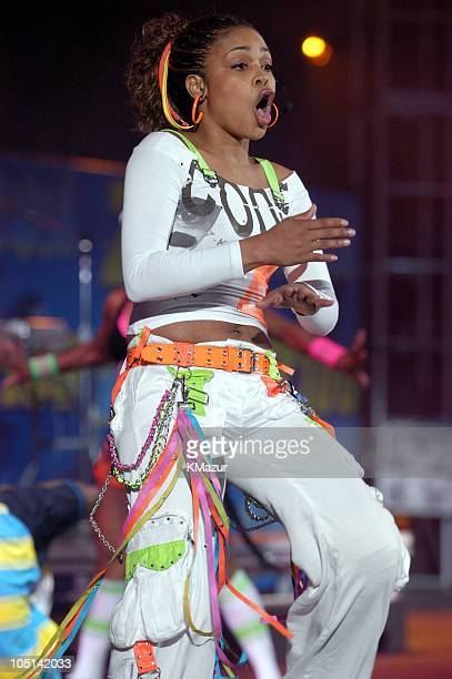 TBoz of TLC in their last concert as a group following the death of member Lisa Left Eye Lopes last year