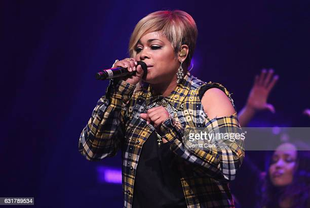 Boz performs during TBoz Unplugged A Benefit Concert Sickle Cell Disease at Avalon on January 15 2017 in Hollywood California