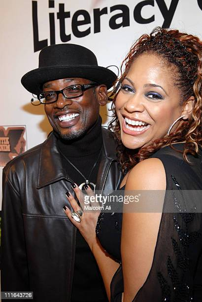 TCCarson and Kim Coles during Read To Succeed Literacy Gala at Renaissance Hollywood Hotel in Hollywood California United States