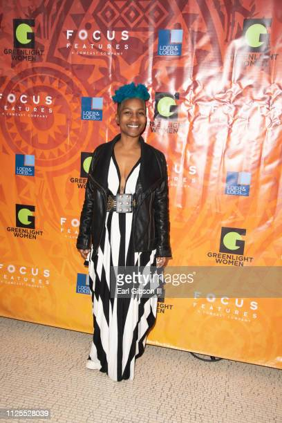 Tchaiko Omawale attends the Greenlight Women For Black History Month Brunch Celebration at The London on February 17 2019 in West Hollywood California