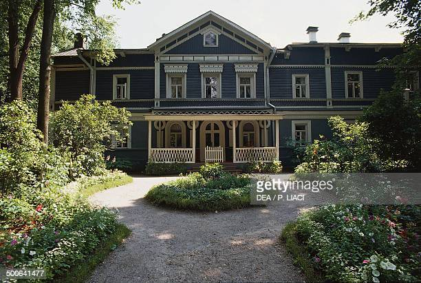 Tchaikovsky housemuseum Klin Russia