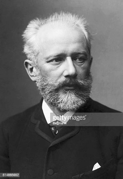 Tchaikovsky Peter Ilich Russian composer Head and shoulders photograph BPA2# 4914