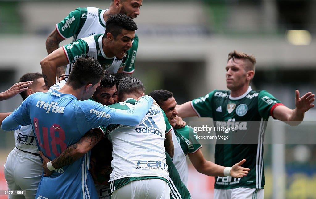 Palmeiras v Sport Recife - Brasileirao Series A 2016 : News Photo