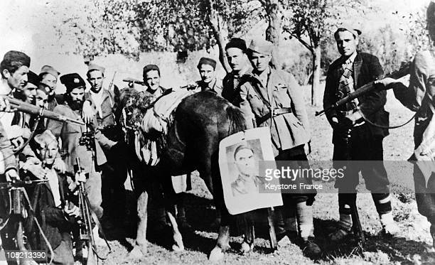 Tchetnik Partisans Of Nationalist Tendency In The Yugoslavian Maquis Between 1941 And 1945 These Resistants Were Regrouped Under The Orders Of The...