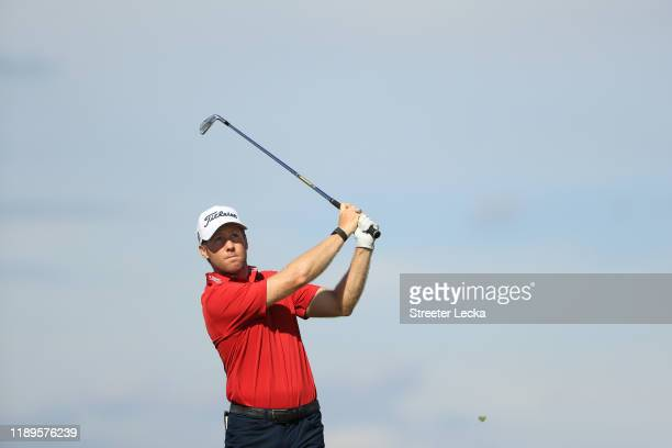 tduring the third round of the RSM Classic on the Seaside course at Sea Island Golf Club on November 23 2019 in St Simons Island Georgia
