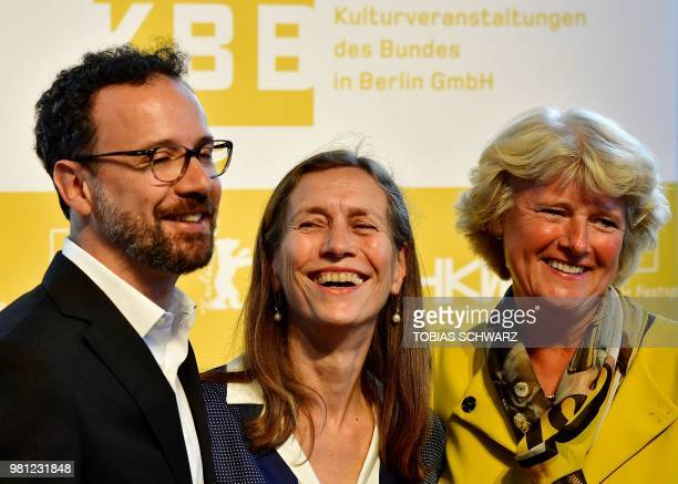 Te former artistic director of the Swiss film festival of Locarno Italian Carlo Chatrian Dutch Mariette Rissenbeek and German State Secretary for...