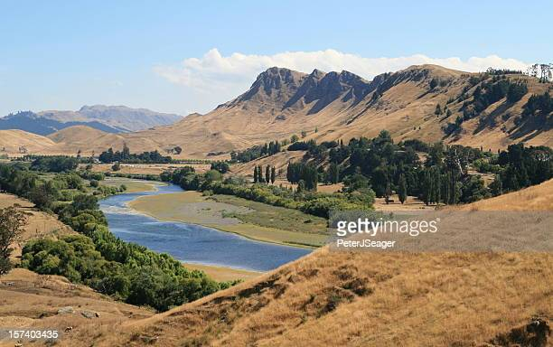 te mata peak, hawkes bay, nz - drought stock pictures, royalty-free photos & images