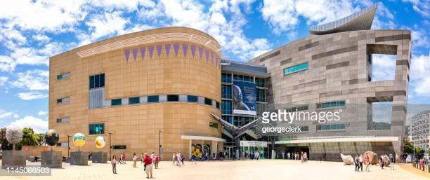 テ・パパテパパトンガレワまたはウェリントンのニュージーランド博物館 - ニュージーランド首都 ウェリントン ストックフォトと画像