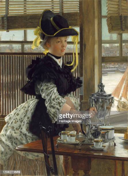 Tea, 1872. Artist James Tissot.