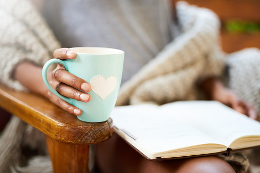 Tea and a good book. What more do you need? 618336370