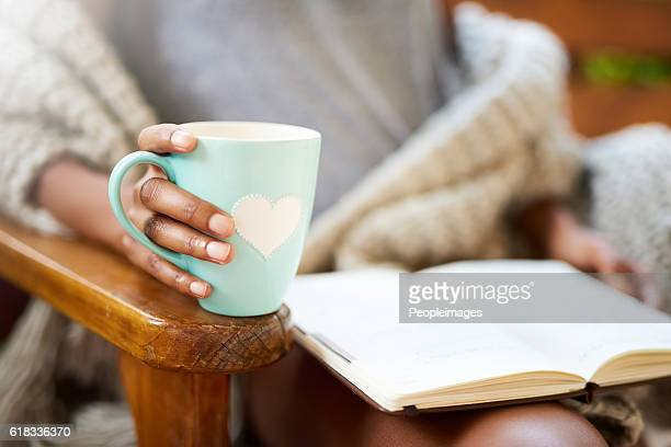 Tea and a good book. What more do you need?