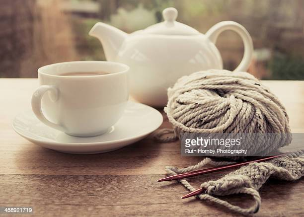 Tea and Knitting