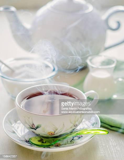 tea and white smoke - www images com stock photos and pictures