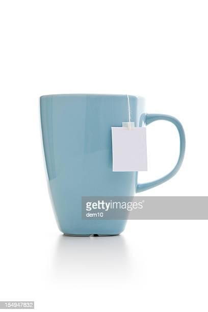 Teebeutel in mug