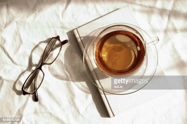 tea break time - herbal tea stock pictures, royalty-free photos & images