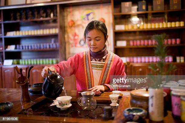 Tea Ceremony, Guilin, China