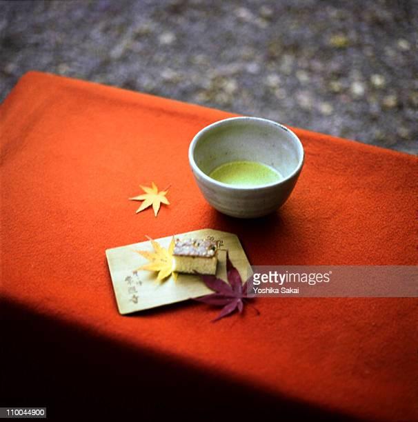 Tea ceremony in Autumn