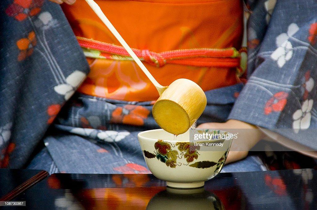 Tea Ceremony Water : Stock-Foto