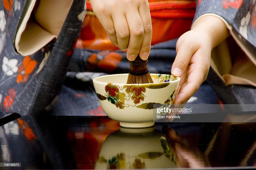 Tea Ceremony Whisk : Stock Photo