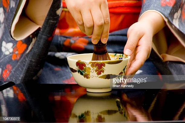 tea ceremony whisk - ceremony stock pictures, royalty-free photos & images